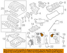 FORD OEM Engine Parts-Adapter Gasket AT4Z6840A