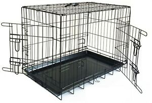 Carrier for HOME, Car, DOG Training Puppy Cage Small Medium xLarge Metal Crates