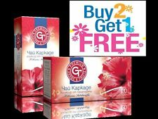 GT Premium Herbs & Fruits Hibiscus Tea 100% Natural & Organic  BUY 2 GET 1 FREE