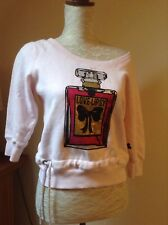 """Lipsy"" casual sweater, fleece lined sz 8 vgc"