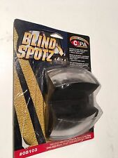BLIND SPOTZ CONVEX SPOT MIRROR,MOUNTS ON EXTERIOR SIDE MIRROR,REDUCES BLIND SPOT