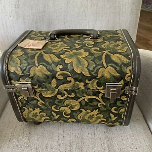 Vintage Singer Storage Sewing Cosmetic Carrying Box