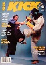 5/83 KICK MAGAZINE TAK KUBOTA IAIDO  BLACK BELT KARATE KUNG FU MARTIAL ARTS