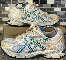 ASICS Gel 1160 Running Shoes Silver Blue Yellow White Women's Size 8.5 T0K6N(2A)