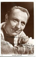 """William Hartnell """"Dr Who"""" Original Signed 6x4 Postcard Signed & Autographed RARE"""