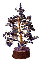 Lapis Lazuli Stone Spiritual Reiki Feng Shui Tree Table Décor Healing Crystal