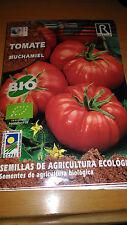 Semillas de Tomate ECOLOGICAS Muchamiel 25 aprx Lycopersicon sculentum seeds