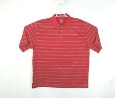 PGA Tour Men's 2XL XXL Red Polo Short Sleeve Official Licensed Apparel Shirt 1r