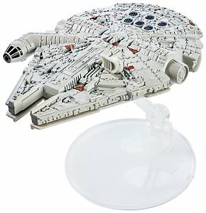 Hot Wheels Star Wars Rogue One Starship Vehicle Millennium Falcon Collectible
