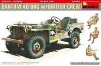 Miniart 1:35 scale kit - Bantam 40 BRC W/ British Crew SPEC EDT MIN35324