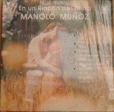 MANOLO MUÑOZ EN UN RINCON DEL ALMA MEXICAN LP STILL SEALED POP EN ESPAÑOL