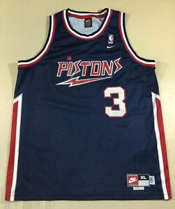 Detroit Pistons Ben Wallace #3 Basketball-NBA Nike Jersey SizeXL