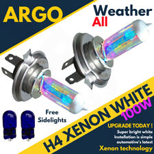 Ford Fiesta Mk6 02 On St H4 501 T10 Super White Xenon Headlight Bulbs 8500k