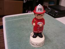 VTG Ceramichrome 1973 Firefighter Boy Fireman Statue Figure, Gates Chili NY