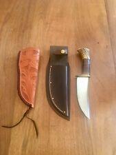 Jim Behing Treeman Early Hunter Knife with 2 Sheath