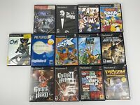 Lot Of 13 Play Station 2 Games PS2 Bundle PlayStation SSX Tricky Pryzm Star Wars