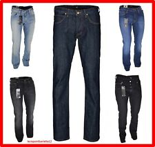 Jeans Lee Knox da uomo regular denim svasati elasticizzato 42 44 46 w30 w32 blue