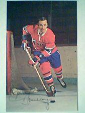 JEAN CLAUDE TREMBLAY  70/71 MONTREAL CANADIENS COLOR POSTCARD
