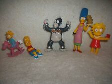 Simpsons Family Cake Topper Or Toy Figure