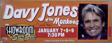 DAVY JONES of MONKEES Signed Huge LAS VEGAS Concert Photo Billboard Sign GAI