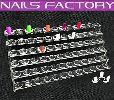 Neues Design Präsentations Stativ für 72 Musternägel, Nagelstudio, Nail Art
