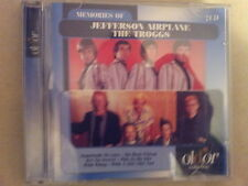 JEFFERSON AIRPLANE THE TROGGS - MEMORIES OF. 2 CD