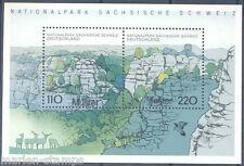 GERMANY  SC#2009A  SOUVENIR SHEET WITH MUSTER HANDSTAMP GUARANTEED GENUINE