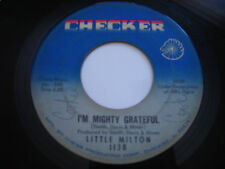 Little Milton I'm Mighty Grateful Original 1966 45rpm