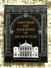 Andrea Palladio The Four Books Of Architecture Book Buildings History Art Ren