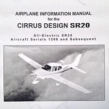 cirrus avionics without warranty ebay rh ebay com cirrus sr20 airplane maintenance manual Cirrus SR20 Interior
