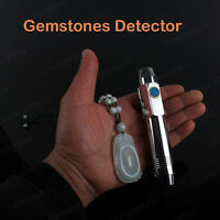 5 Watt Jewelry Jade LED Flashlight White Yellow UV Agate Detector Torch Lamp