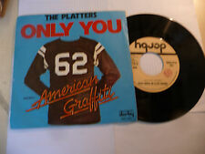 """THE PLATTERS""""ONLY YOU- disco 45 giri DERBY Italy 1974"""""""
