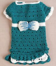 Dog Clothes fashion suit, Outfit Knit Dress and Hat, smal Pet Puppy size XXS