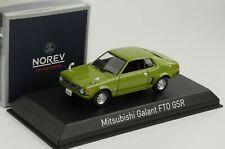Mitshubishi Galant FTO GSR 1973 Light green 1:43 Norev diecast