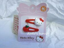 Sanrio Japan Hello Kitty Beauty Apple Hair Clips