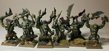 Warhammer Orcs and Goblins - Orruks - Savage Orcs x 10 - Pro Painted