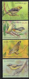AUSTRALIA 2013 BIRDS PARDALOTES 4v MNH