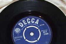 BRIAN POOLE AND THE TREMELOES  45 CANDY MAN GOOD/CONDITION  YEAR 1964
