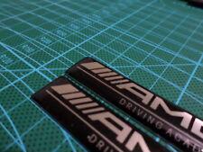2 Pics small EMBLEM AMG Car Badge Mercedes Benz CLK