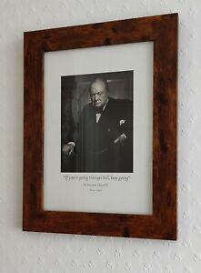 Framed Portrait Of Sir Winston Churchill
