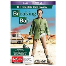 BREAKING BAD.-Season 1-Region 4-New AND Sealed- 3 DVD Set-TV Series