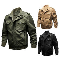 Fall Military Men Male Tactical Jacket Army Pilot Jackets Air Force Cargo Coats