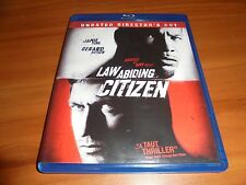 Law Abiding Citizen (Blu-ray Disc,2010, 2-Disc Rated/Unrated) Gerard Butler Used
