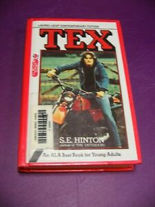 Tex - S.E. Hinton - Ex-School Paperback Softcover - Outsiders Author