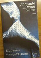 50 Nuances de Grey-Trilogie Fifty Shades| El James | JC Lattès | 2012 *CommeNeuf