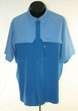 Silver Bait Fishing Shirt Vented Mens XL Blue