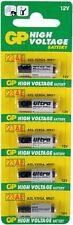 PILAS 23A 27A 11A 10A 44A 4LR44 LR1 LRV08 MN21 L1028 BATTERY ENERGIZER DURACELL