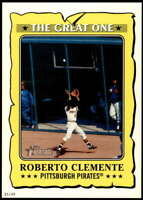 Roberto Clemente 2021 Topps Heritage 5x7 The Great One #GO-15 /49 Pirates