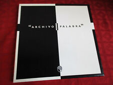 3LP Box ARCHIVO DE LA PALABRA CSIC SPAIN 1989