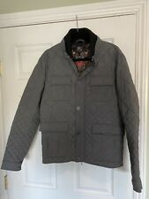 Cavalli Class Mens Quilted Coat Size 52/42